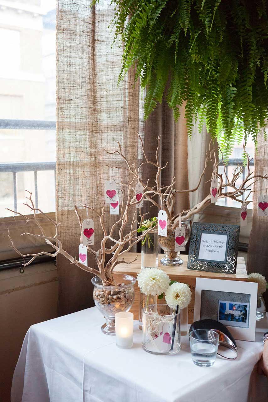 Unique Wedding Venues Toronto - Rooftop Terrace - Wedding Guest Book Alternative