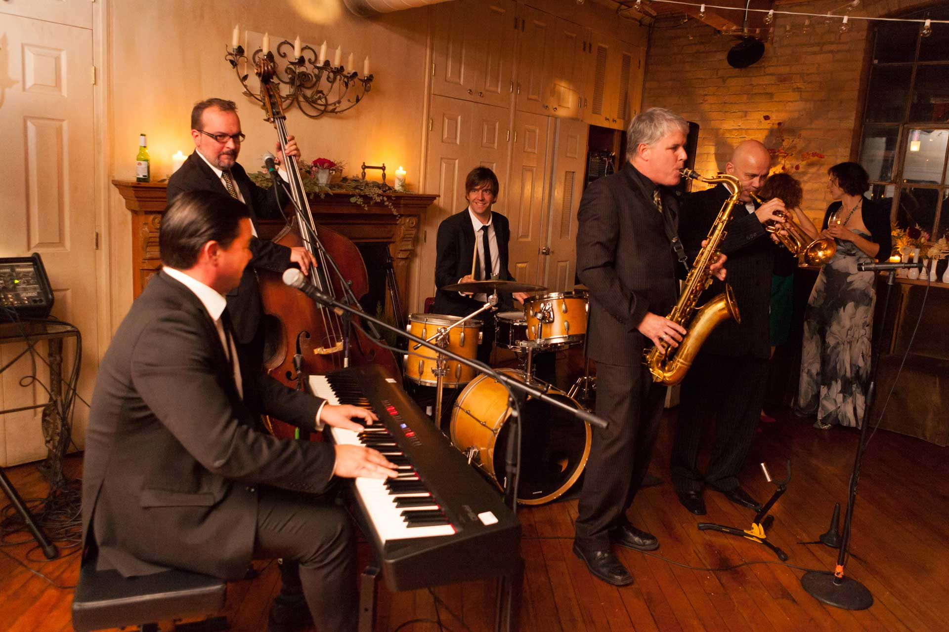 Unique Wedding Venues Toronto - Live Band - Jazz Quintet