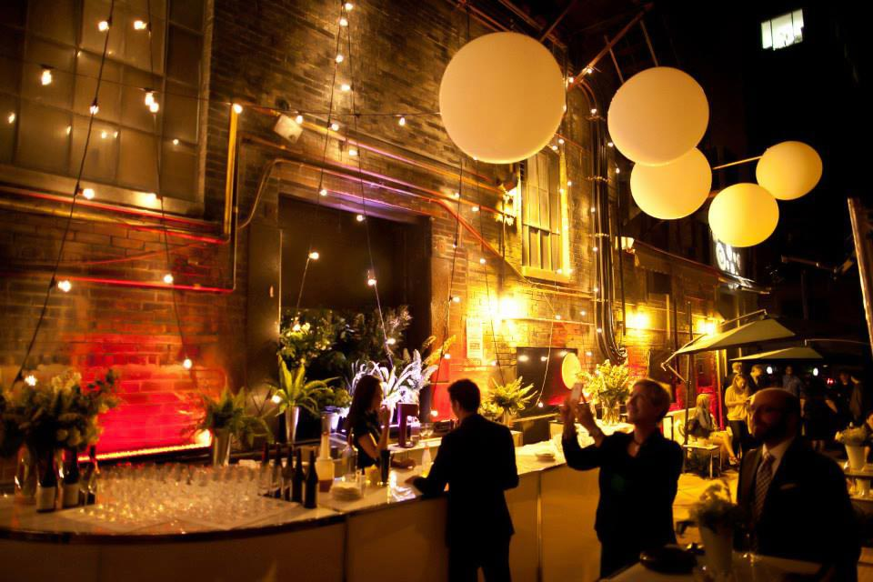 Downtown Toronto Event Venues - Outdoor Patio