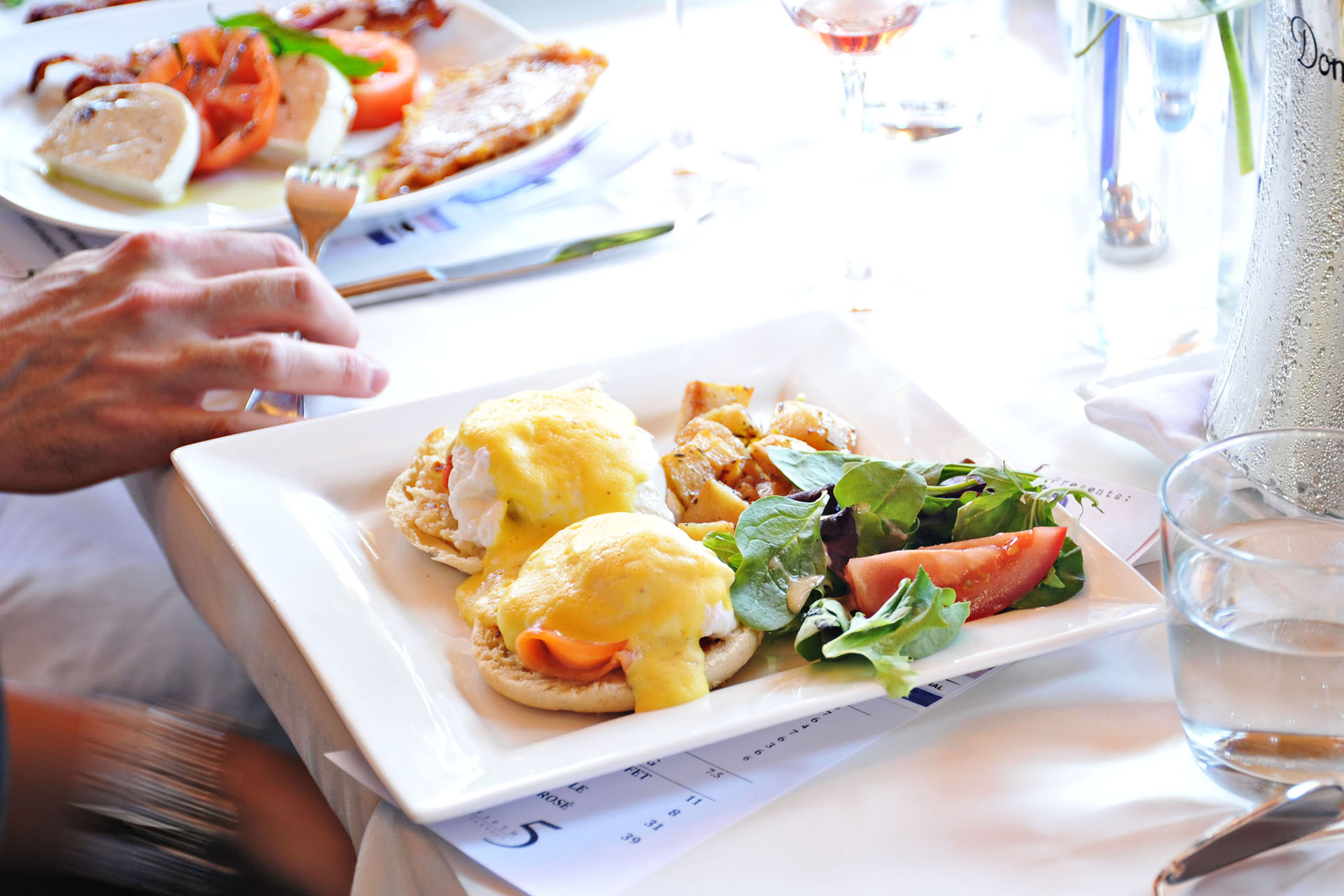 Event Catering Toronto - Corporate Brunch - Bridal Shower Brunch - Sit-Down Luncheon
