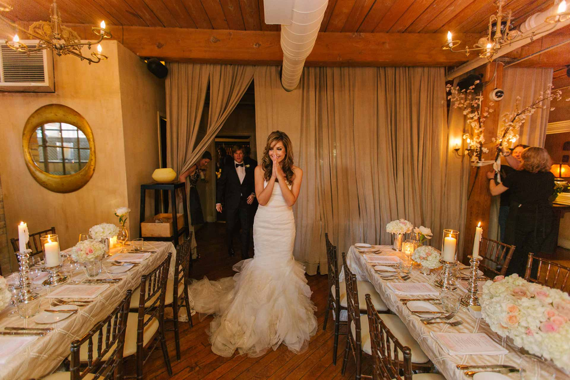 Elegant Toronto Wedding Venue - Restaurant Reception Tablescape