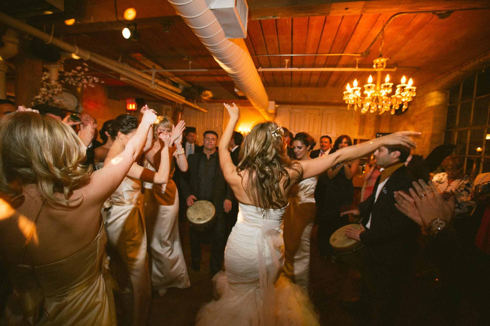 Toronto Wedding Venue - Restaurant Reception Dance Floor
