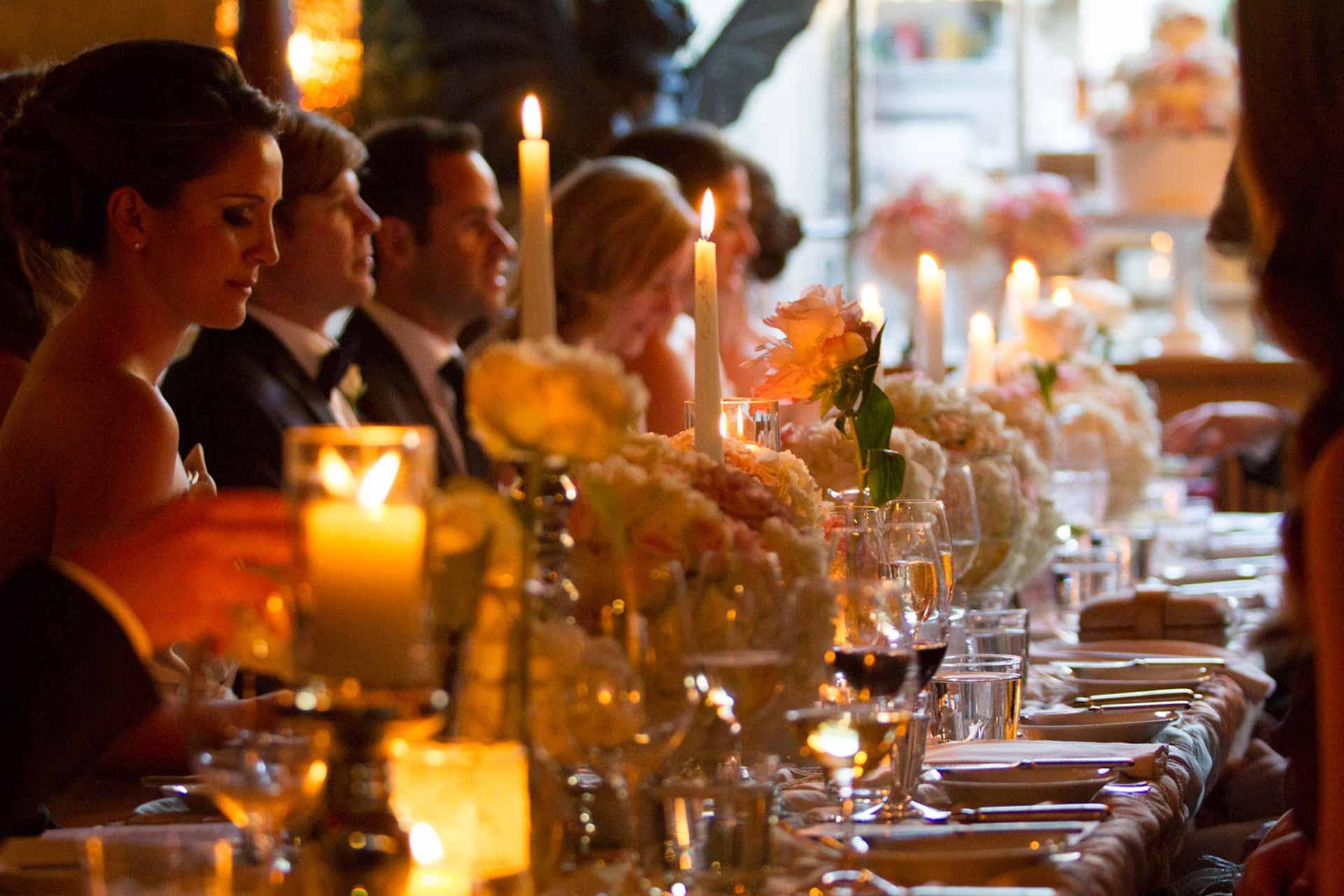 Toronto Wedding Venue - Elegant Restaurant Reception - Tablescape