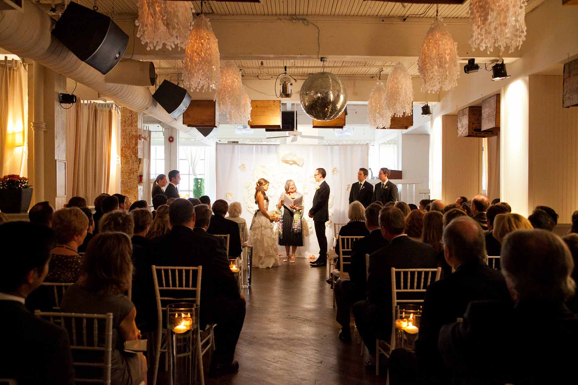 Toronto Wedding Venue - Wedding Ceremony in Urban Loft