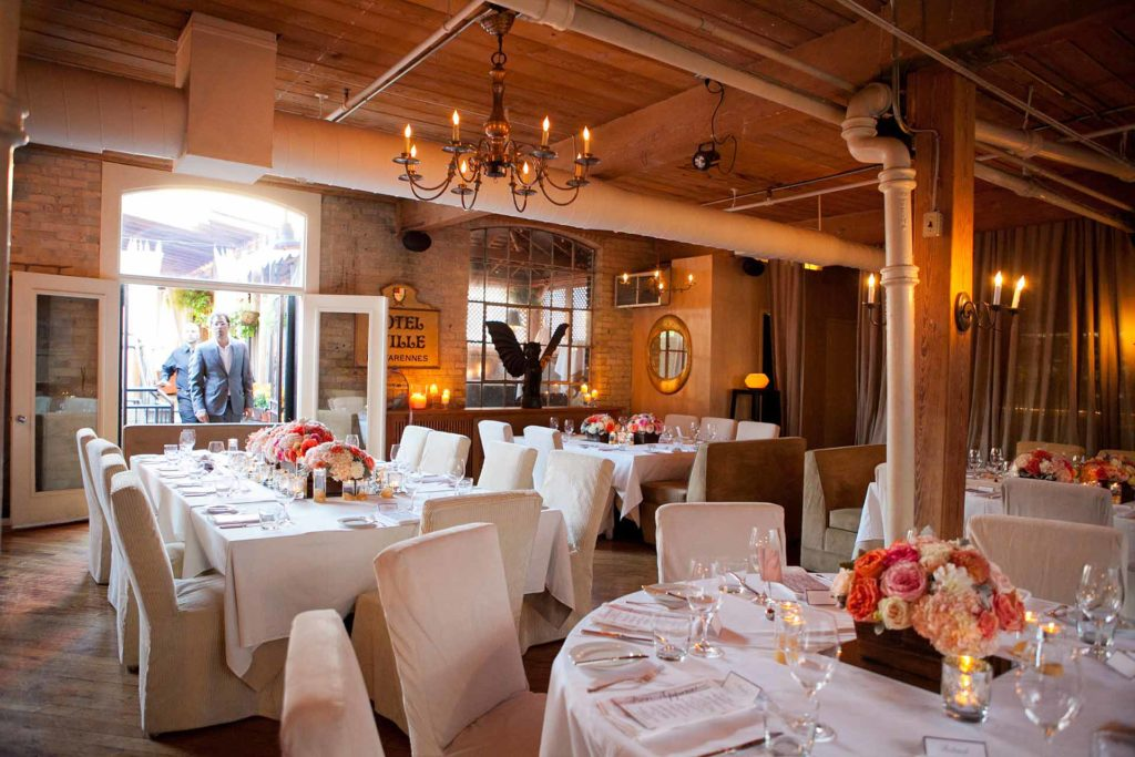 Unique Toronto Rooftop Wedding Venue The Fifth Weddings Beauteous Private Dining Rooms Toronto Decor