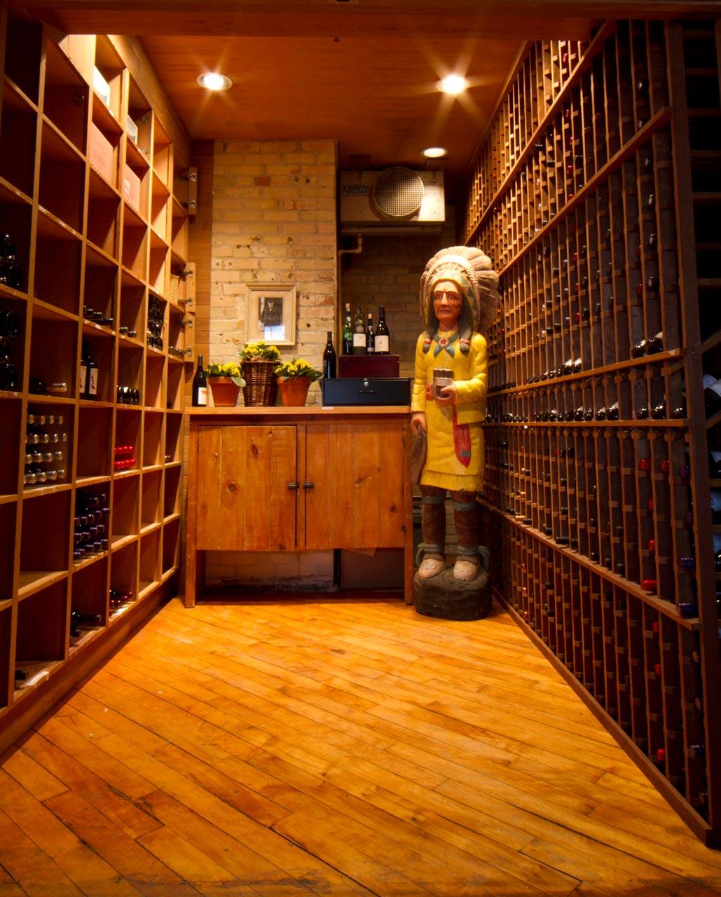Toronto Event Venues - Sommelier - Wine Cellar