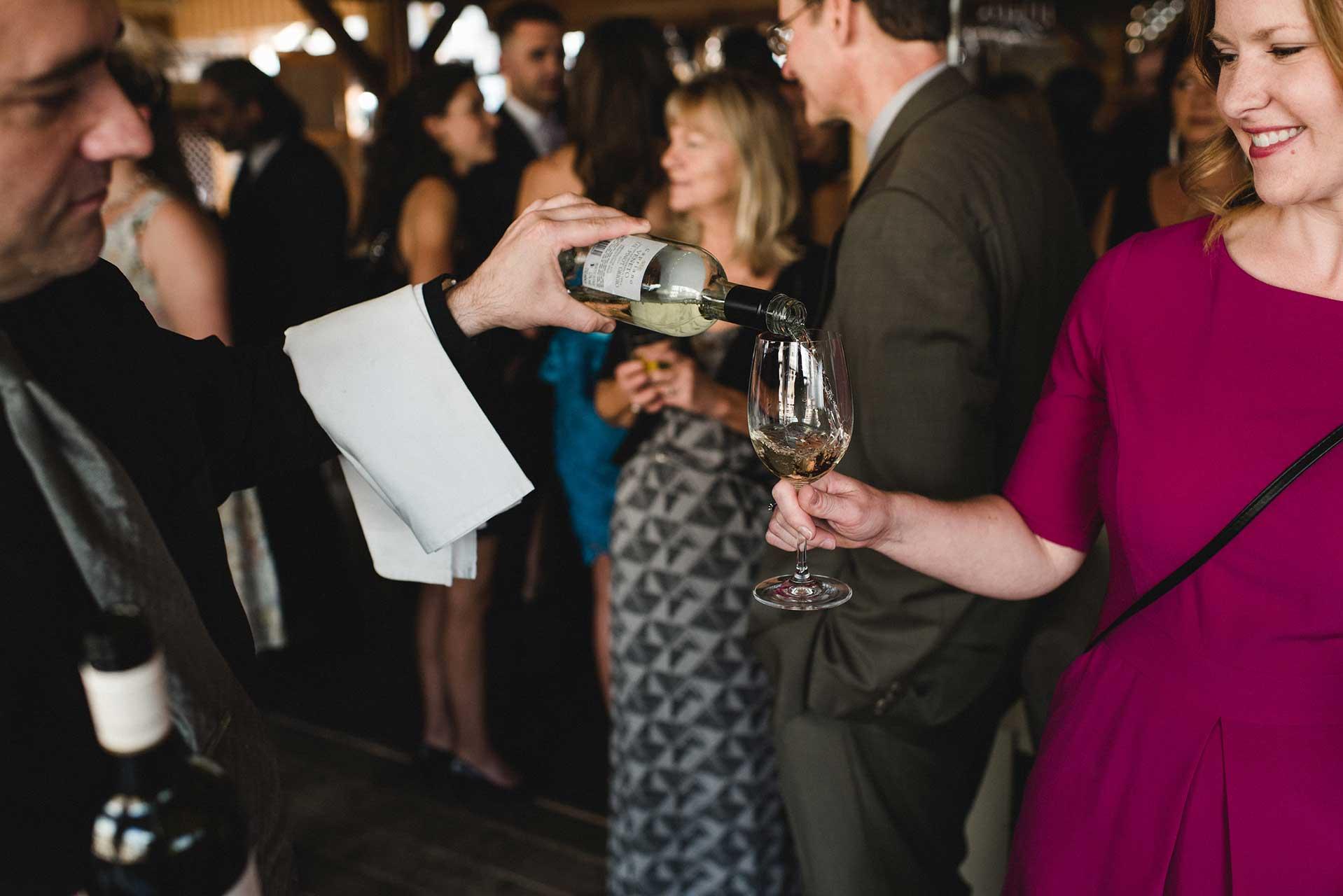 Unique Wedding Venues Toronto - Rooftop Terrace - Cocktail Hour