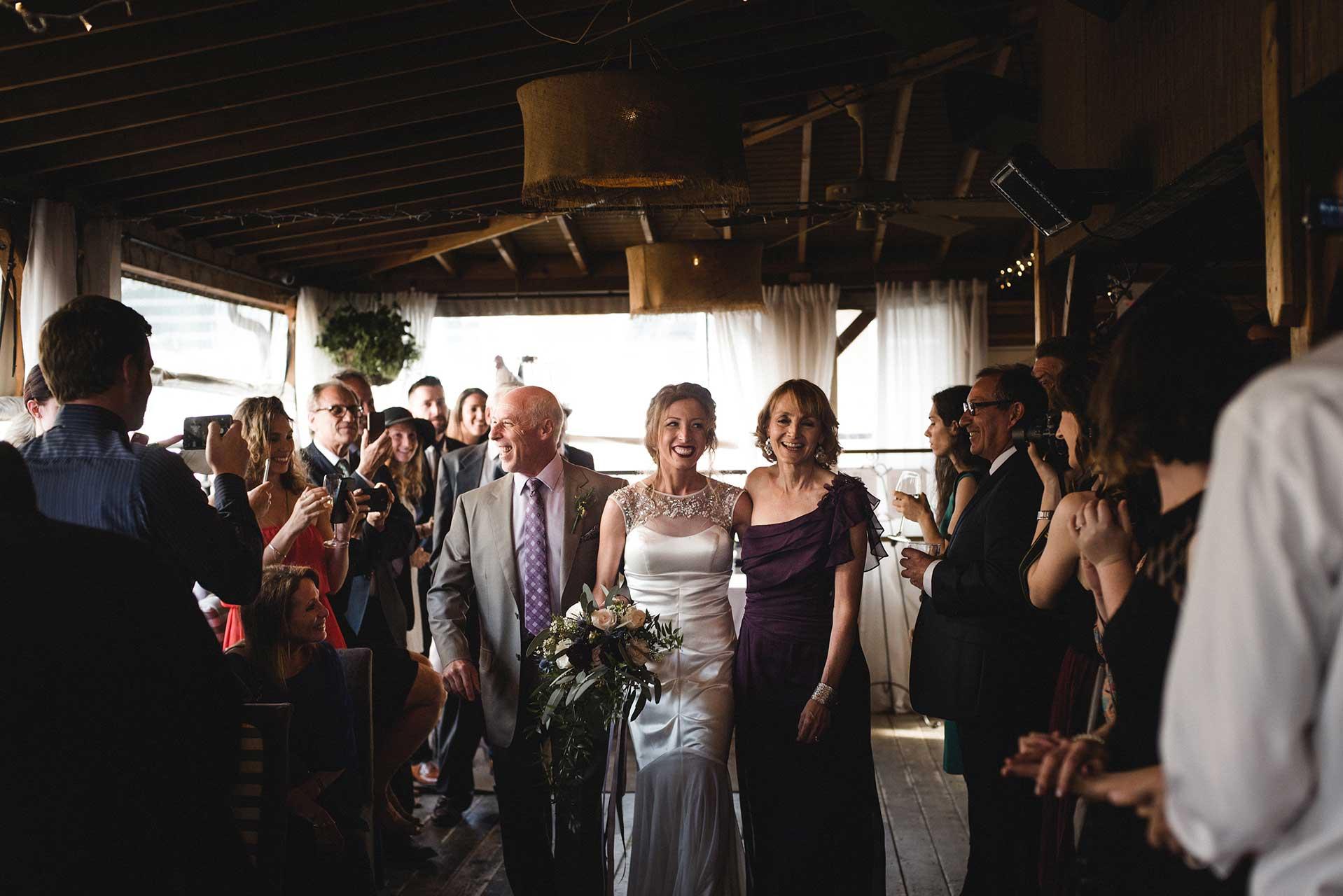 Unique Wedding Venues Toronto - Wedding Ceremony - Rooftop Terrace