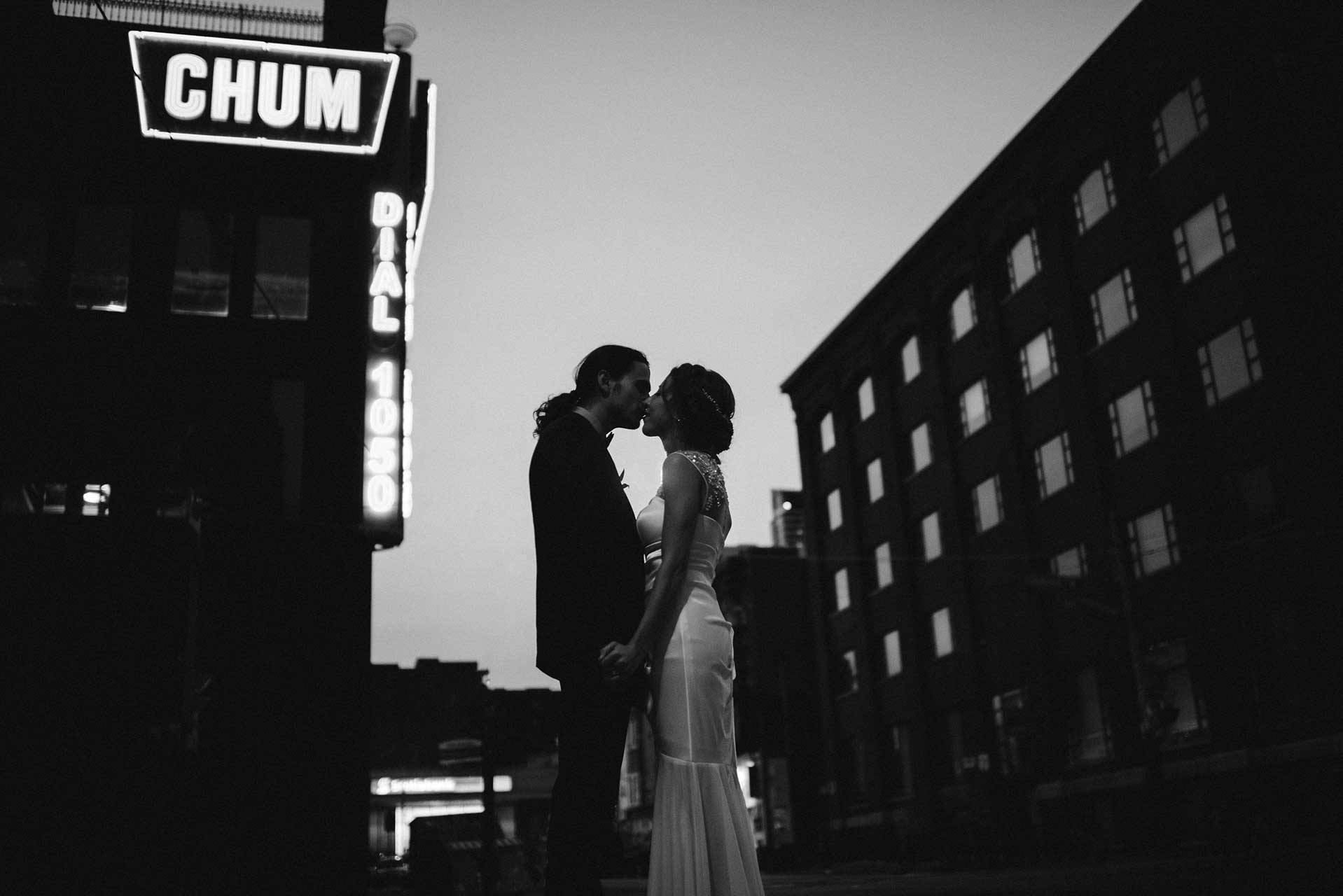 Unique Wedding Venues Toronto - Wedding Photography - Toronto Entertainment District
