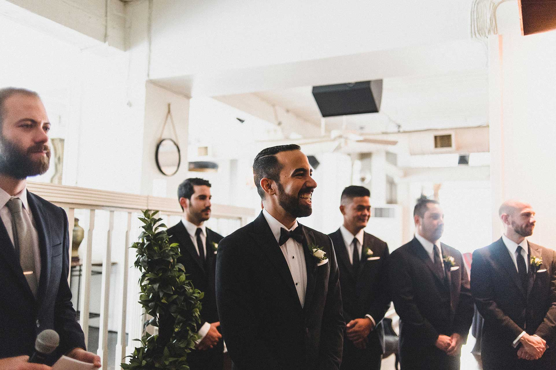 Wedding Venues Toronto - Wedding Ceremony - Urban Loft