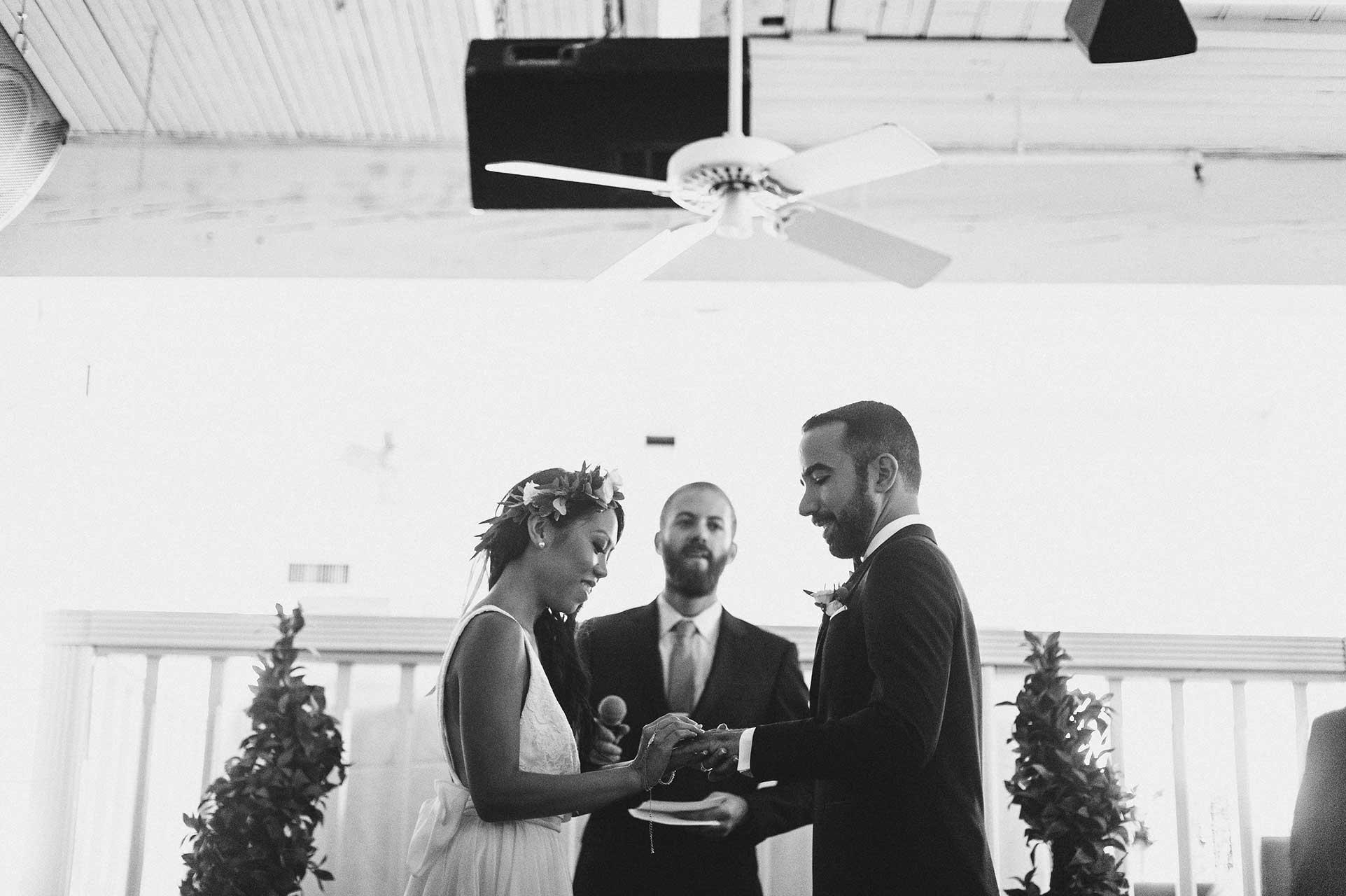 Wedding Venues Toronto - Wedding Ceremony - Urban Loft