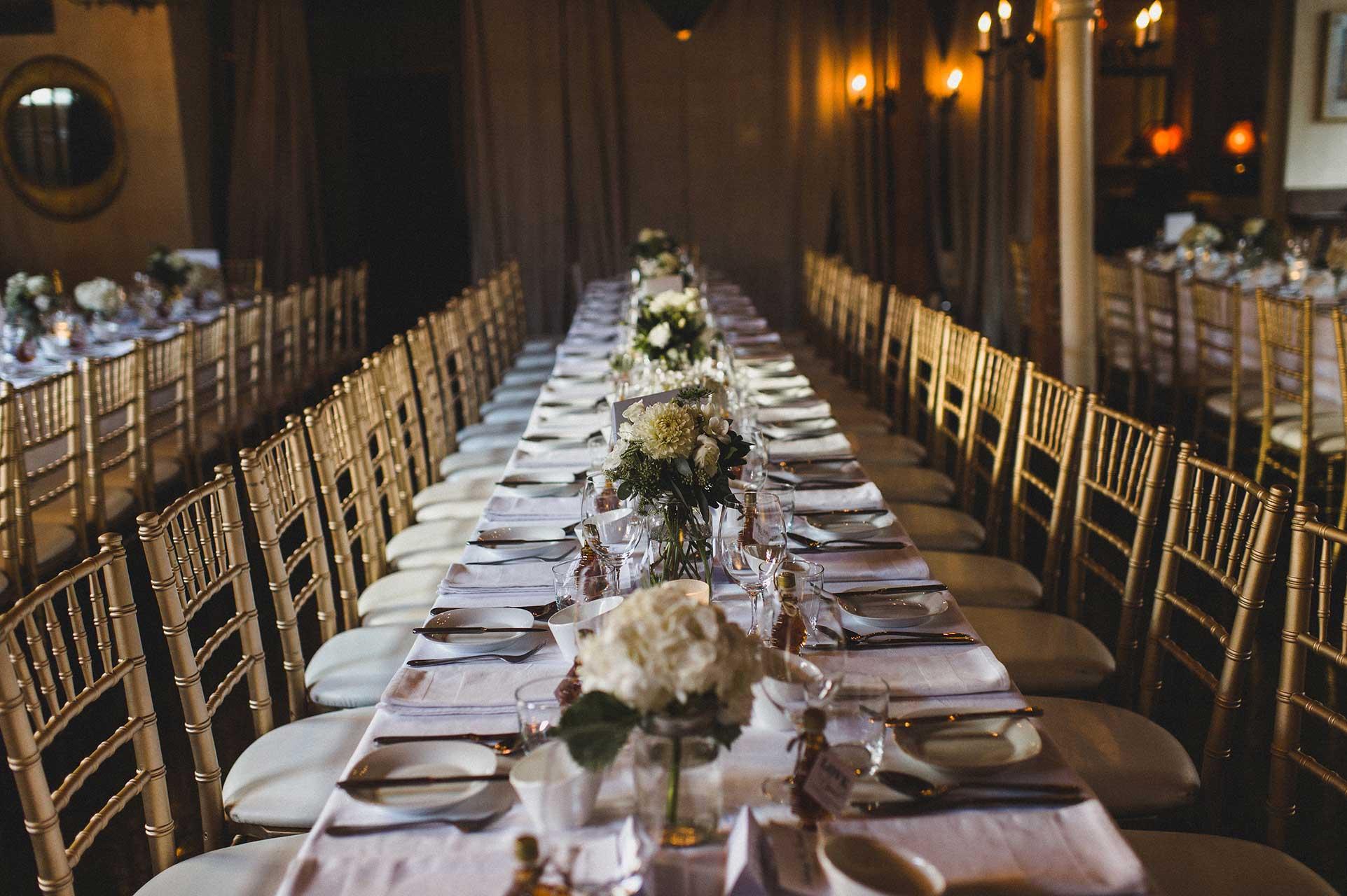 Unique Wedding Venues Toronto - Wedding Reception - Tablescapes - Wedding Centerpieces