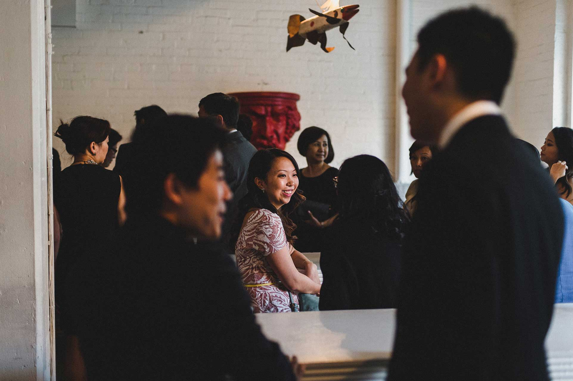 Unique Wedding Venues Toronto - Cocktail Hour - Toronto Loft
