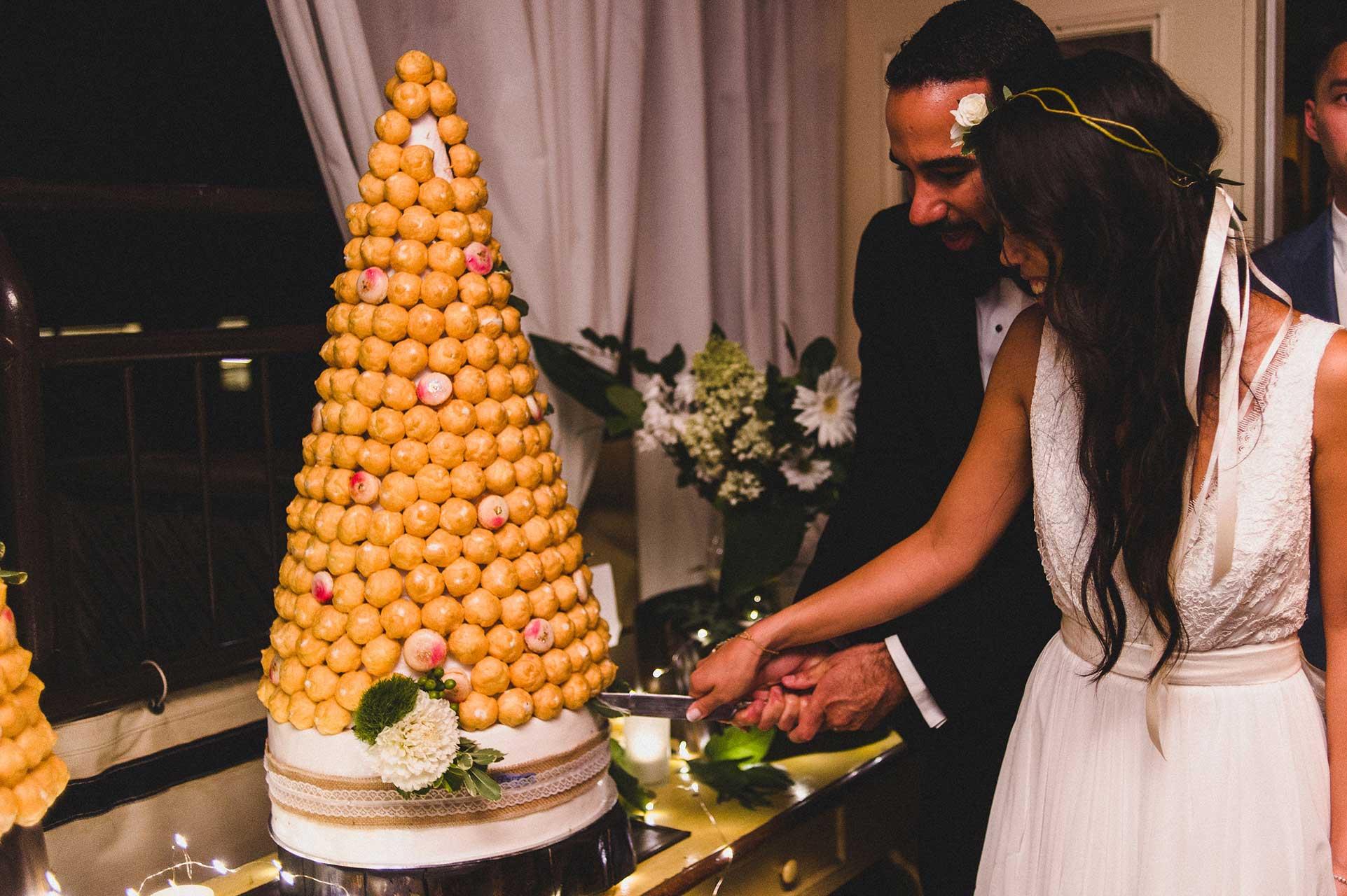Wedding Venues Toronto - Wedding Cake - Croquembouche Tower