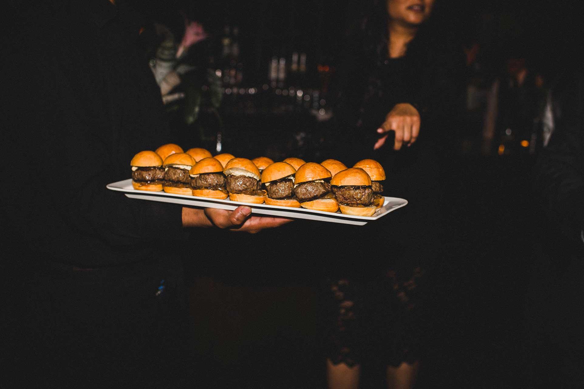Wedding Catering Toronto - Late Night Snacks - Sliders