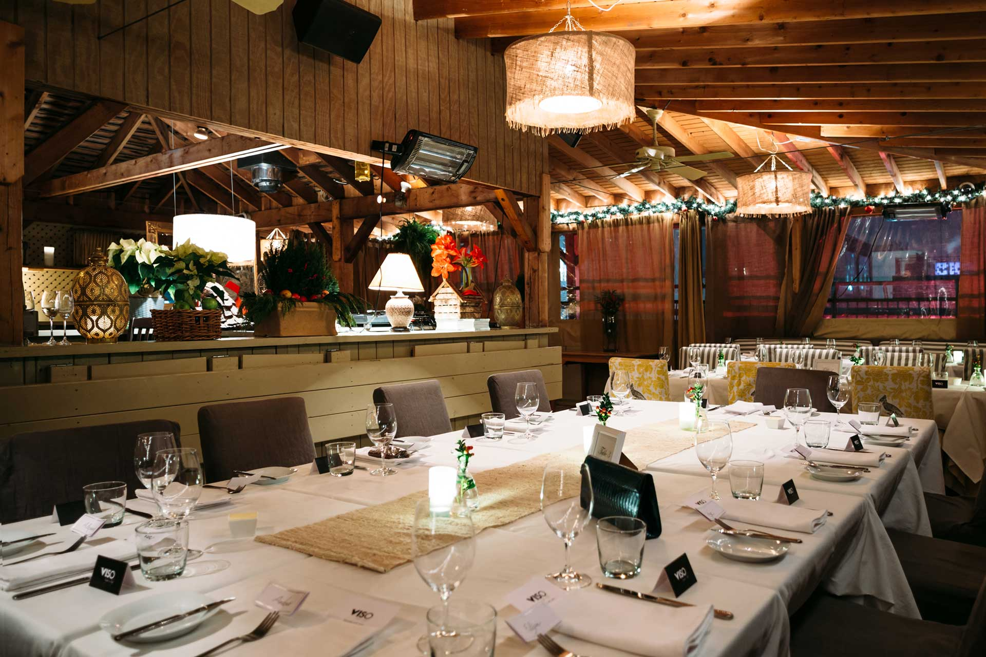 Toronto Event Venue - Rooftop Terrace - Corporate Holiday Party