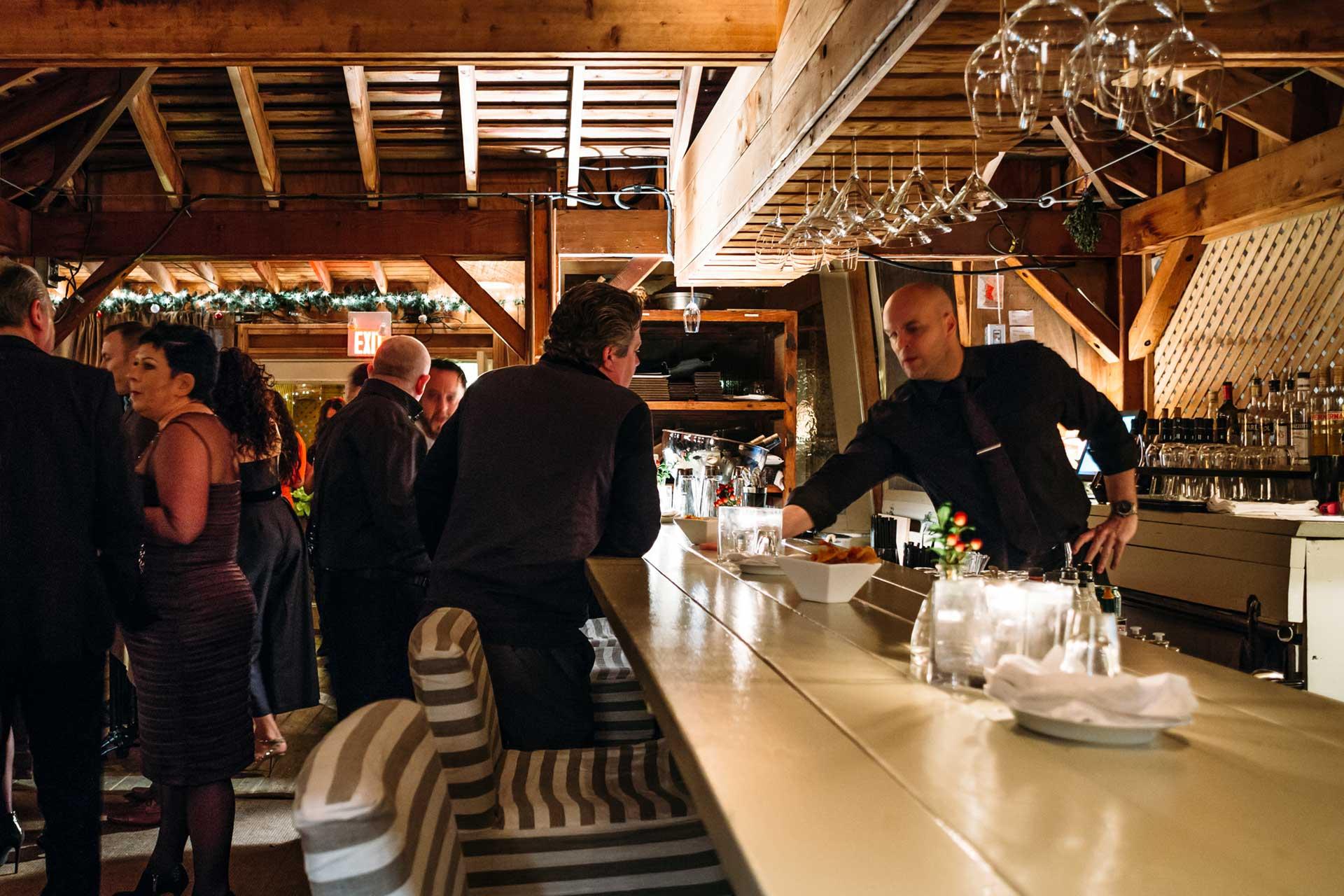 Toronto Event Venue - Rooftop Terrace - Corporate Event Cocktail Hour