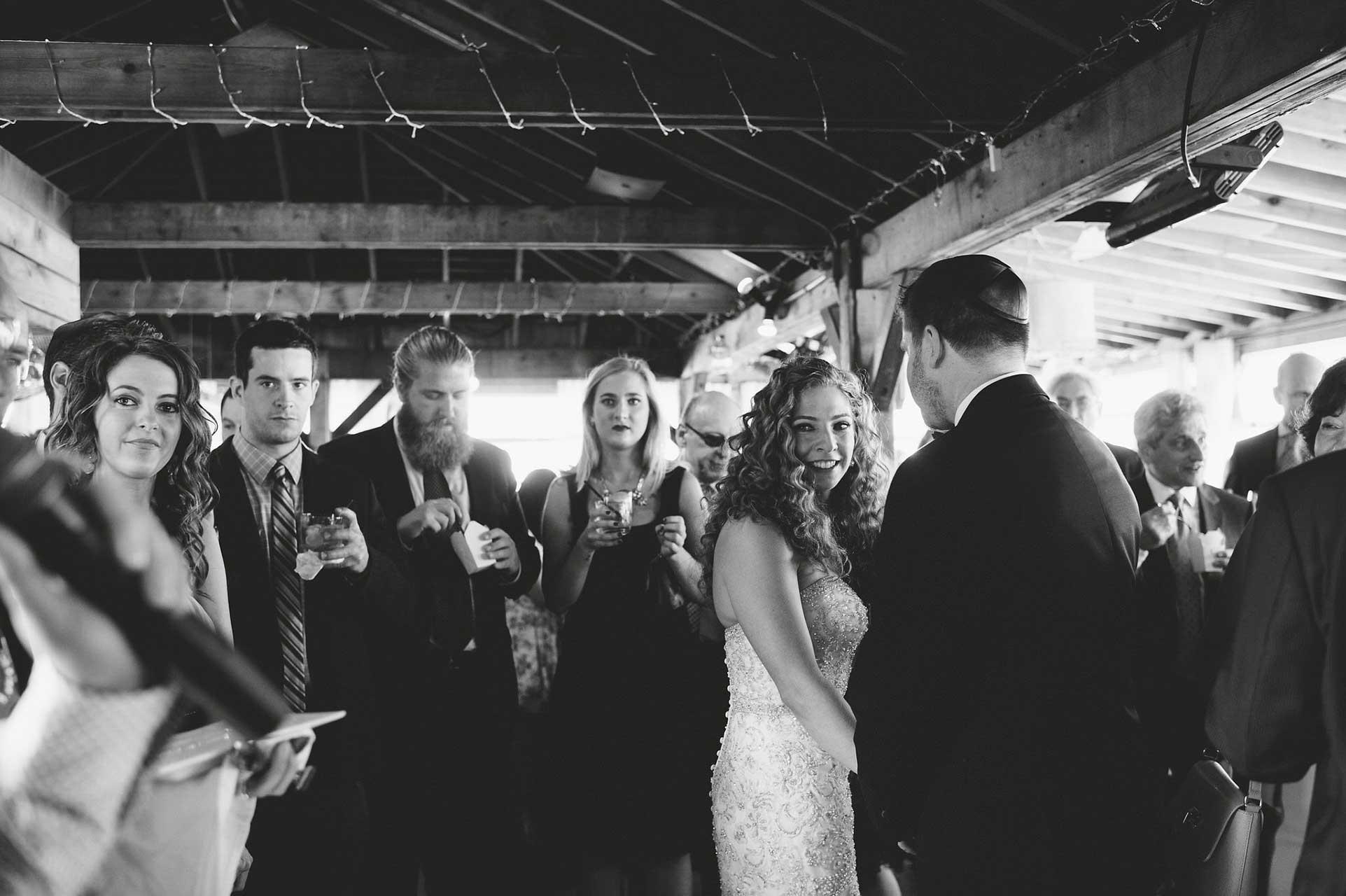 Toronto Wedding Venues - Rooftop Terrace - Cocktail Hour