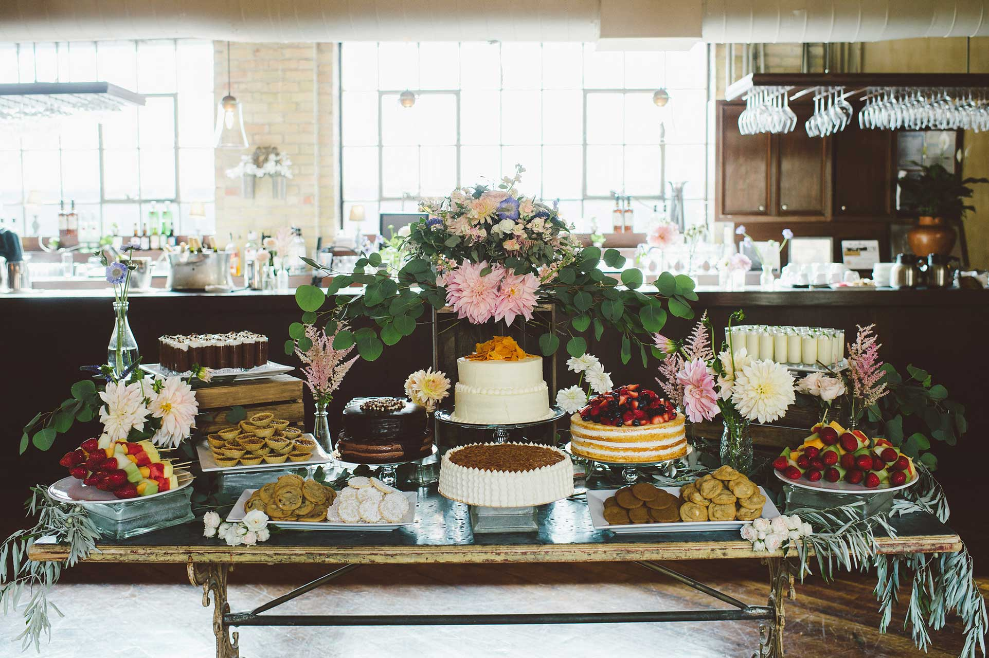 Wedding Venues Toronto - Dessert Reception - Sweet Table - Wedding Cakes