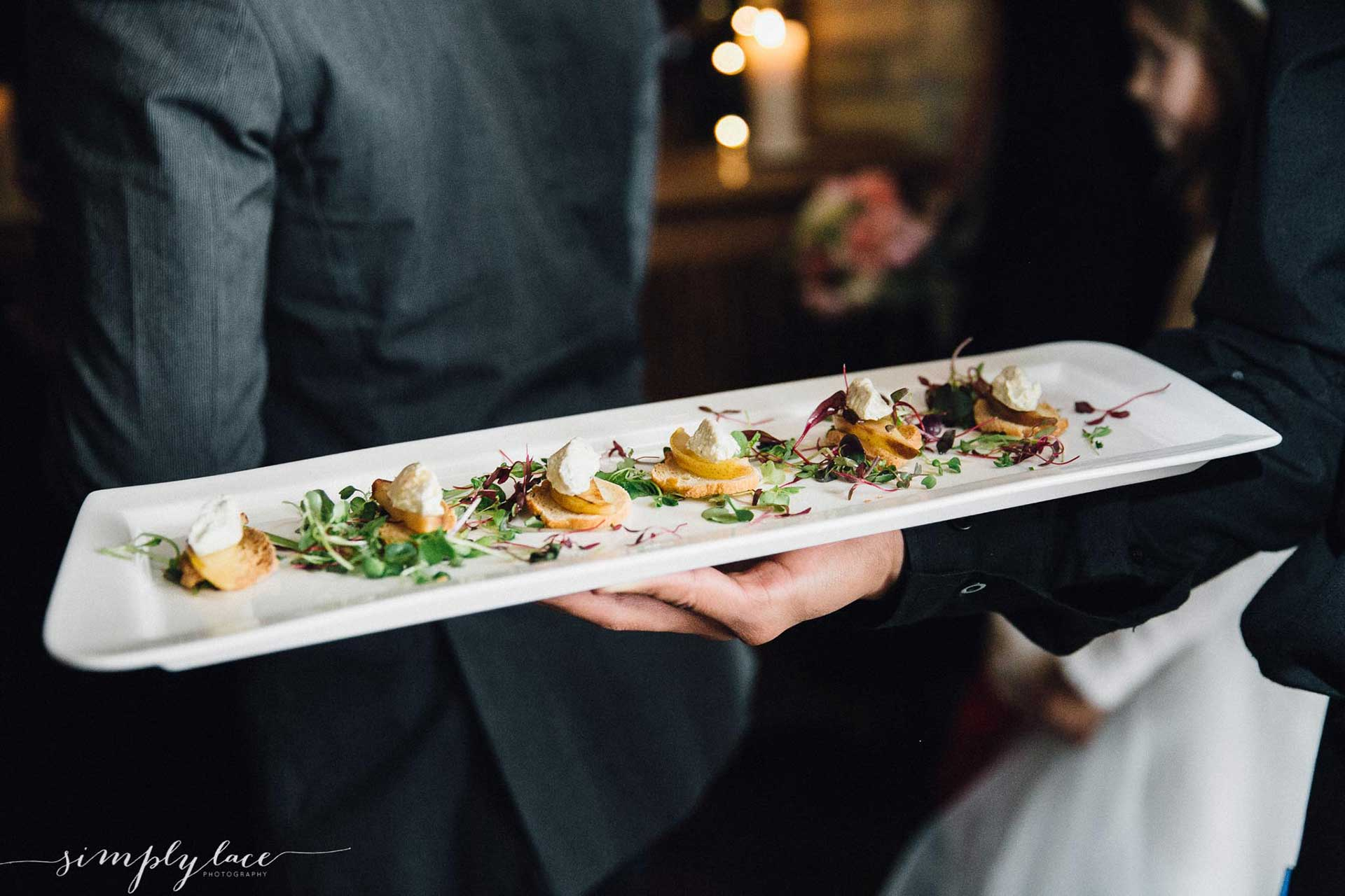Wedding Catering Appetizers Image In Toronto, ON - The Fifth Events