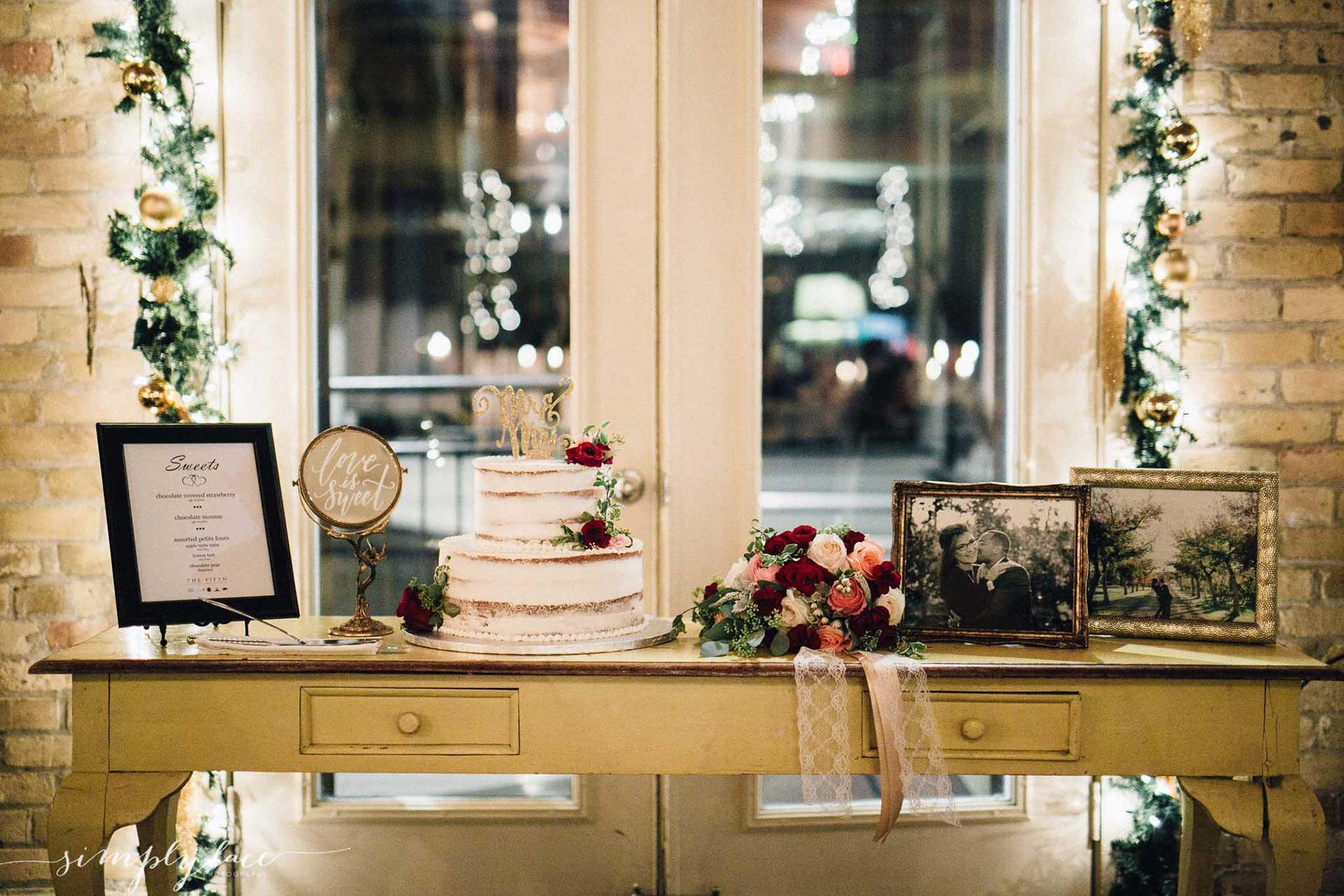 Unique Wedding Venues Toronto - Wedding Cake - Vintage Wedding