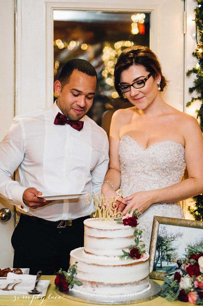 Unique Wedding Venues Toronto - Naked Wedding Cake