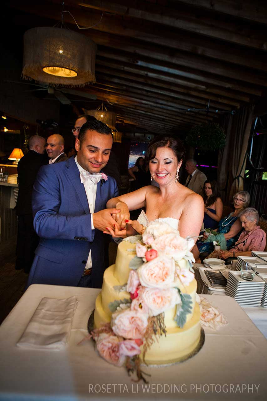 Wedding Venues Toronto - Wedding Cake - Rooftop Terrace