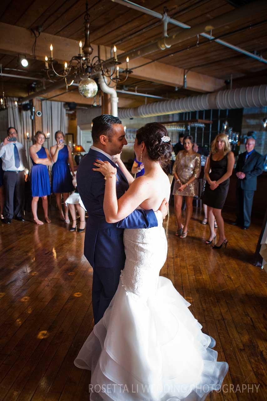 Wedding Venues Toronto - Wedding Dance - Restaurant Reception
