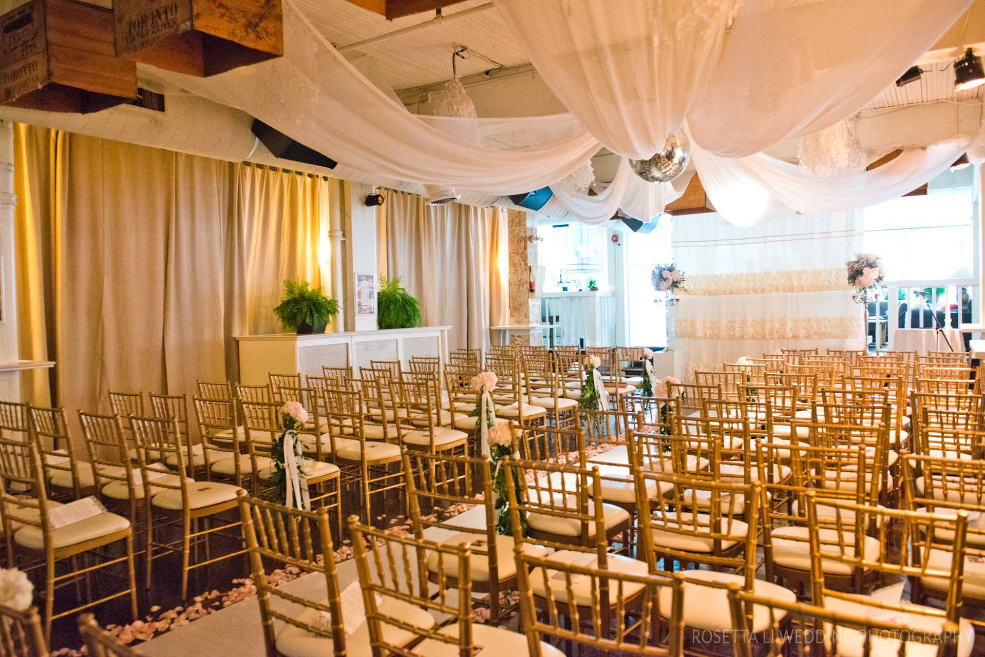 Wedding Venues Toronto - Wedding Ceremony in an Urban Loft