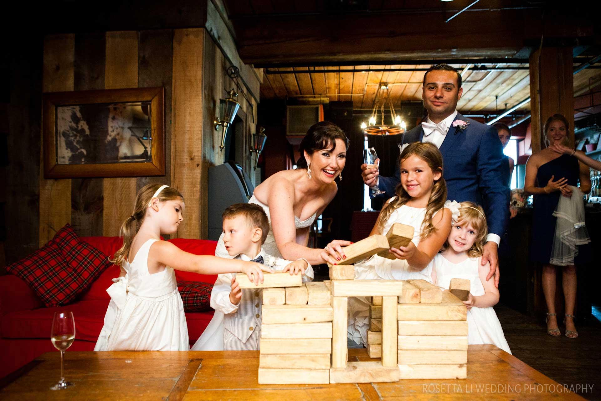 Unique Wedding Venues Toronto - Cocktail Hour - Wedding Party