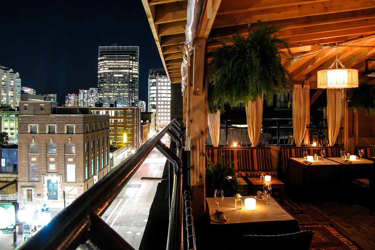 Outdoor Event Venues Toronto - Rooftop Terrace - The Fifth Terrace