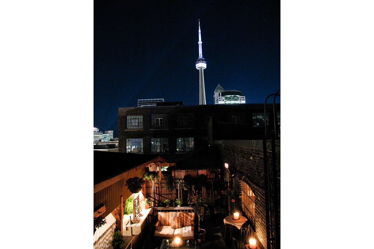 Outdoor Wedding Venues and Event Spaces Toronto - Rooftop Terrace - The Fifth Terrace