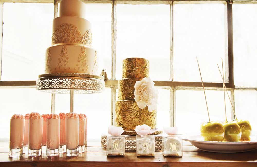 Custom Wedding Cakes Toronto and Sweet Table