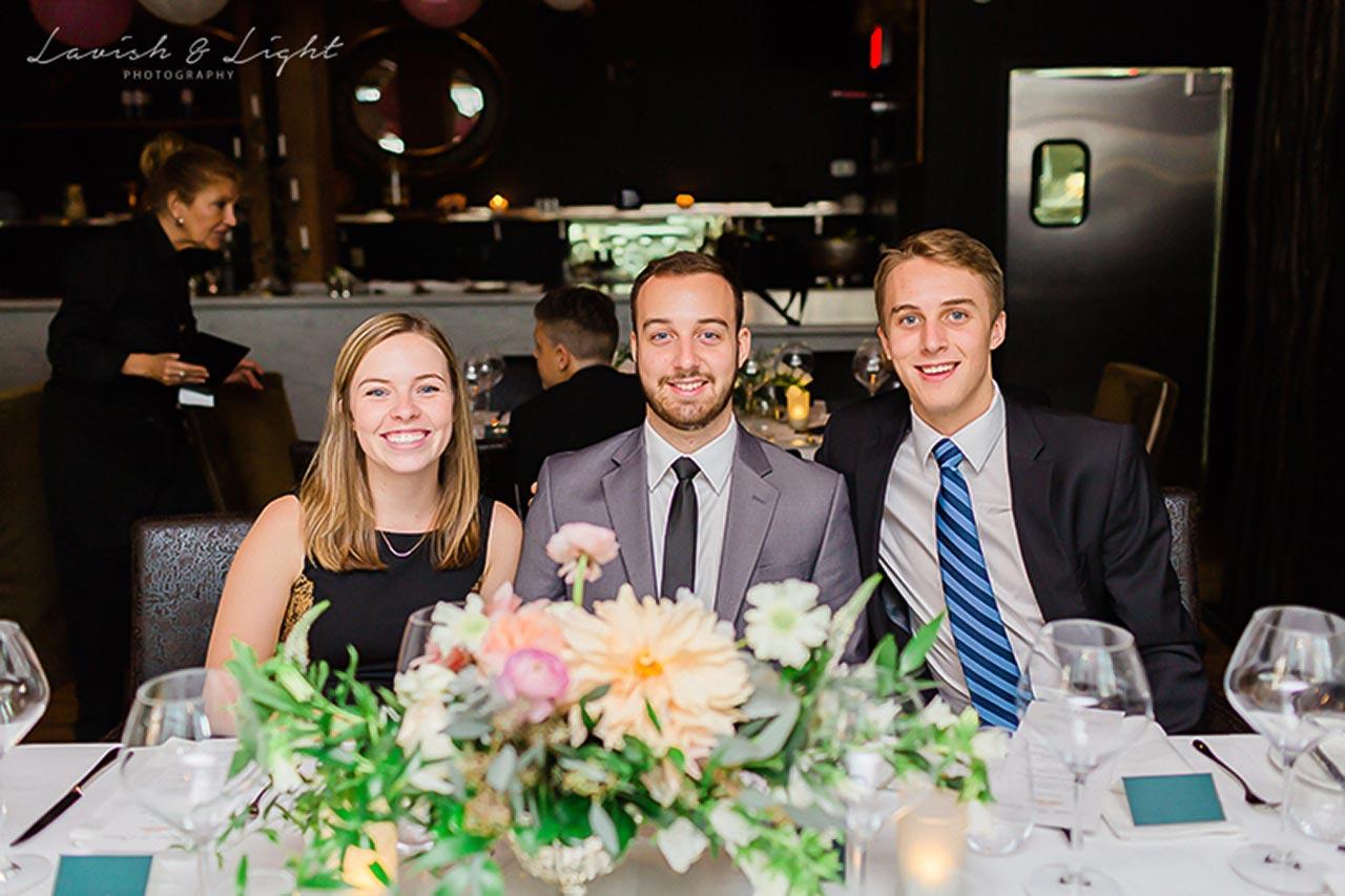 Intimate Wedding Venue Toronto - Wedding Reception - One Room at The Fifth