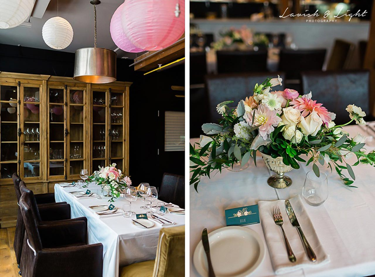 Intimate Wedding Venue Toronto - One Room at The Fifth - Wedding Reception