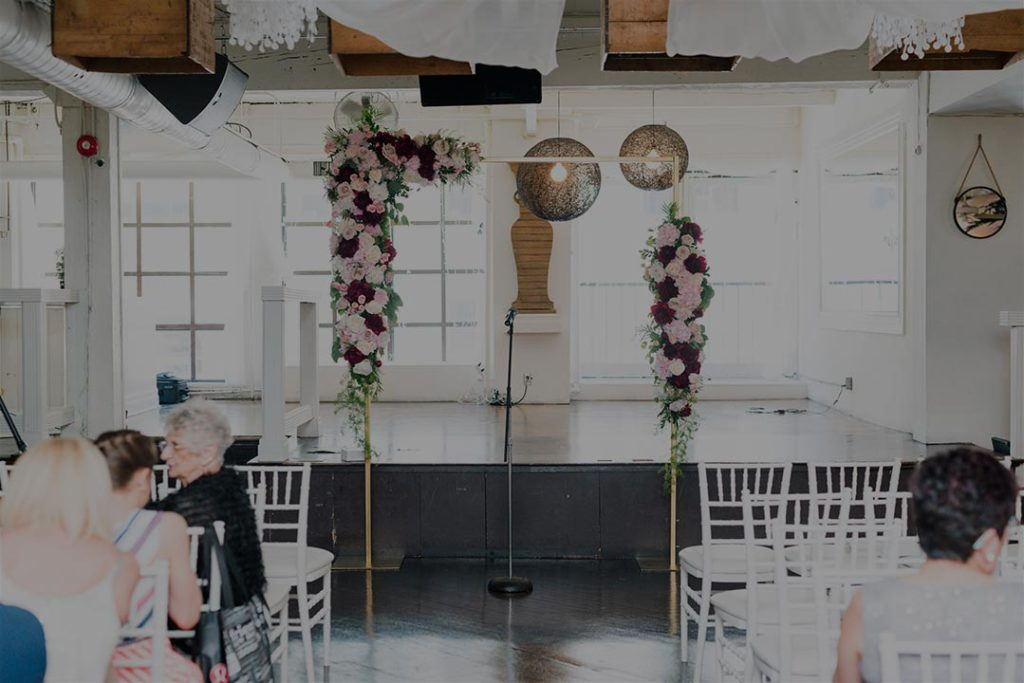 Contemporary Whimsical Wedding Venue Toronto The Fifth Events