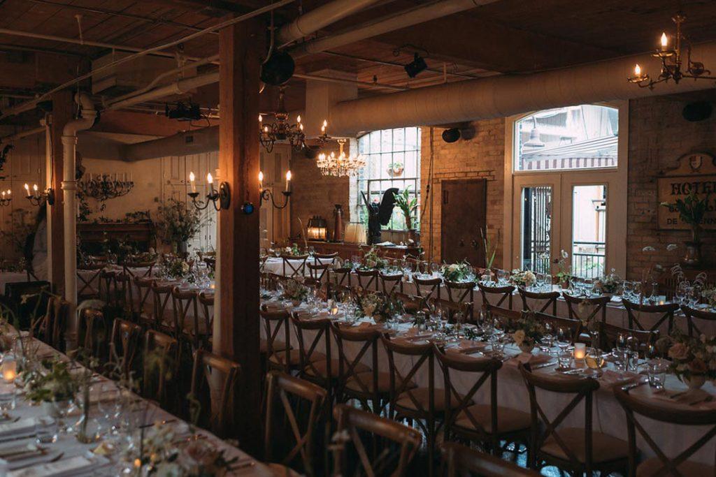 Rustic Urban Garden Wedding Venue Toronto The Fifth Events